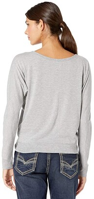 Rock and Roll Cowgirl Long Sleeve Pullover Dolman Graphic 48T7699
