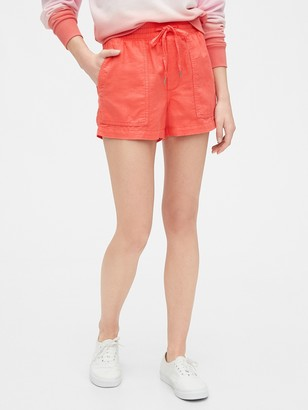 Gap Utility Shorts in Linen-Cotton