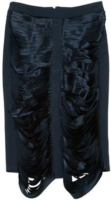 Dion Lee Navy Silk Skirts