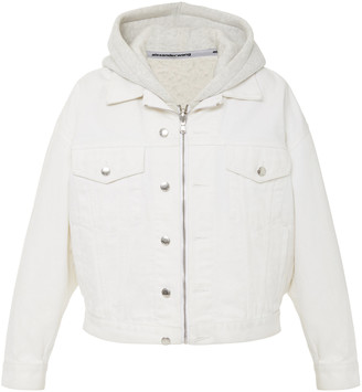 Alexander Wang Runway Game Cotton Hooded Jacket