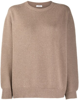 Peserico Round Neck Knitted Jumper