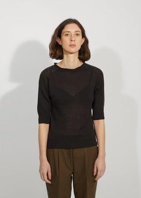 Margaret Howell Linen & Cotton Roll Neck Sweater