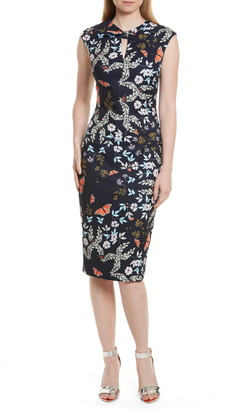 Ted Baker Kiarra Kyoto Gardens Sheath Dress