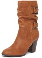 Dorothy Perkins Womens Tan 'Katherine' Slouch Boots- Brown