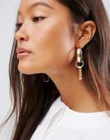 Asos Open Shape Link Earrings