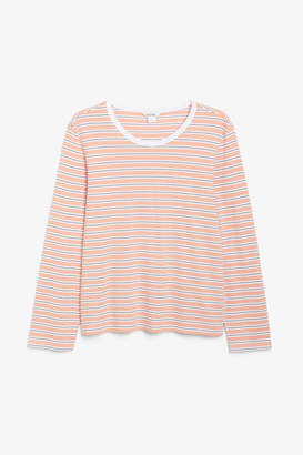 Monki Soft long-sleeved top