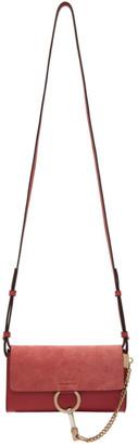 Chloé Pink Faye Wallet Bag
