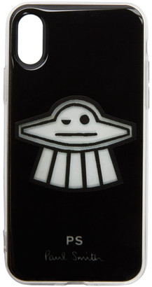 Paul Smith Black Clip UFO iPhone X Case