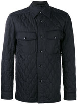 Tom Ford quilted shirt jacket - men - Polyester - 52