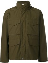 Paul Smith patch pocket hooded jacket - men - Cotton/Polyester - S