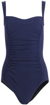 Karla Colletto Swim Ruched One-Piece Swimsuit