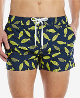 2xist Men's Abstract Fish Swim Shorts