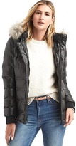 Gap ColdControl Lite metallic ski puffer jacket