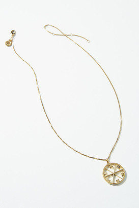 Quincy Pendant Necklace By Sugar Blossom in Gold