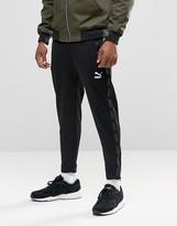 Puma Urban Cropped Joggers In Black