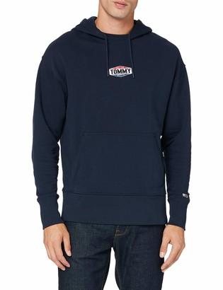 Tommy Jeans Men's Tjm Patch Logo Hoodie Sweater