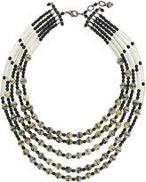 Armani Collezioni layered beaded necklace