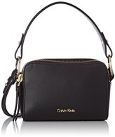 Calvin Klein Natasha Small Crossbody, Women's Cross-Body Bag, Negro ()