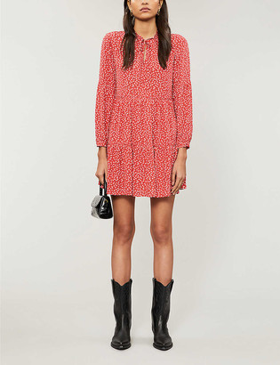Rails Everly tiered woven mini dress