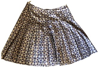 Miu Miu Purple Cotton Skirt for Women