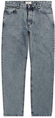 Ami Paris Acid-Wash Straight Jeans