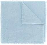 Faliero Sarti raw edge scarf - men - Virgin Wool/Cashmere/Polyamide - One Size