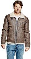 GUESS Faux-Shearling Jacket