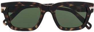 G Star Foldable Square Frame Sunglasses
