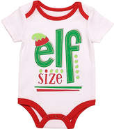 Baby Starters White 'Elf Size' Bodysuit - Infant