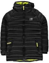 Karrimor Kids Alpiniste Down Jacket Junior Coat Top Water Resistant Hooded Zip