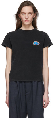 Balenciaga Black EU BB Logo Fitted T-Shirt