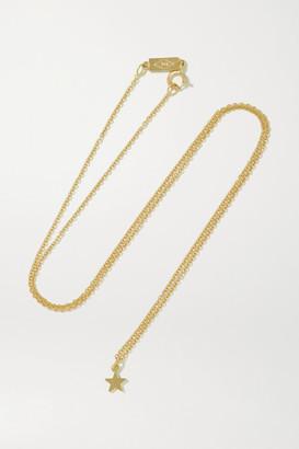 Jennifer Meyer Mini Star 18-karat Gold Necklace