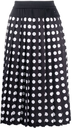 x Nike polka-dot skirt