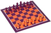 Bell & Curfew Chess & Checkers Game