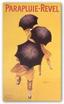 "McGaw Graphics Parapluie-Revel, 1922 by Leonetto Cappiello 36""x21.5"" Art Print Poster"