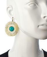Calypso Julie Vos Gold And Turquoise Earrings