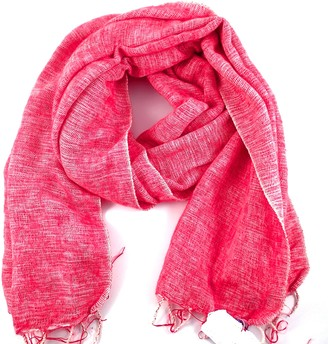 "Cool Trade Winds SUPER SOFT - SOFT AND COSY YAK"" SHAWL THE ORIGINAL OVERSIZED BLANKET SCARF: a luxurious 190cm x 85cm in size (Pink)"