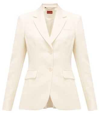 Altuzarra Fenice Single-breasted Wool-blend Jacket - Beige