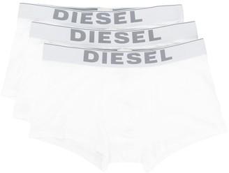 Diesel Three Pack Logo Boxer Briefs