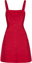Herve Leger Bandage Mini Dress - Red