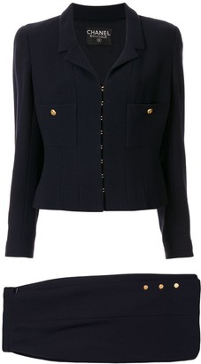 Chanel Pre Owned 1996 Setup skirt suit