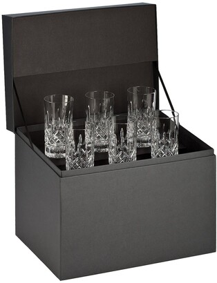Waterford Lismore Set of 6 Lead Crystal Highball Glasses