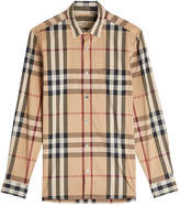 Burberry Printed Shirt with Cotton
