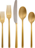 Cambridge Silversmiths Everyday Beacon 20-pc. Gold-Plated Flatware Set