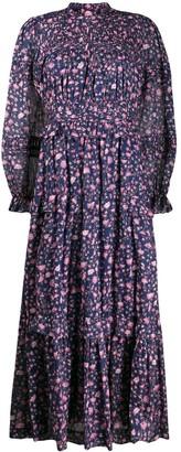 Etoile Isabel Marant Likoya floral print dress