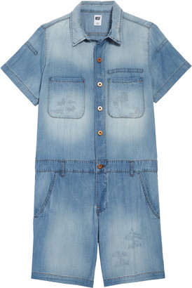NSF Abel Chambray Mechanic Romper