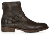 Belstaff Trialmaster Waxed-leather Ankle Boots