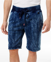 "True Religion Men's Tie Dyed Cotton 11"" Sweatshorts"