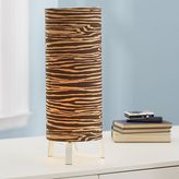 Wood Grain Eco-Chic Patterned Table Lamp