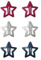 Gymboree Star Hair Clips Set